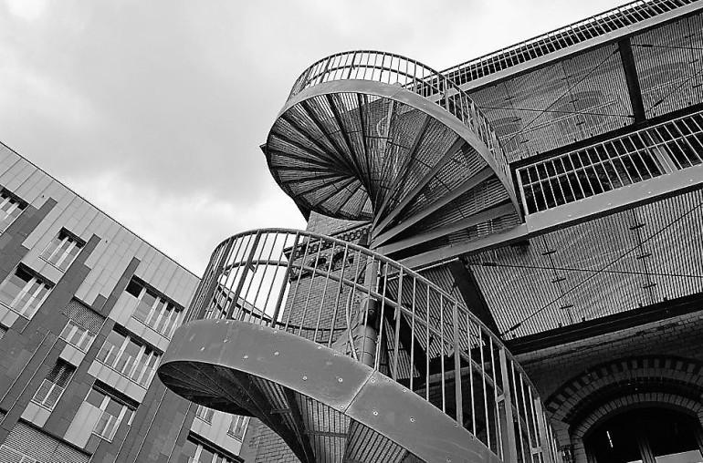 Hafencity: Blick nach oben 00