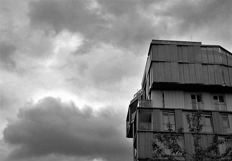 Hafencity: Blick nach oben 07